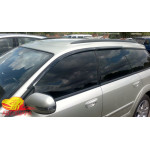Вітровики для Subaru Outback III / Legacy універсал 2004-2009 накл.деф.окон Cobra-Tuning