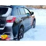 Вітровики для Subaru XV 2011 накл.деф.окон Cobra-Tuning