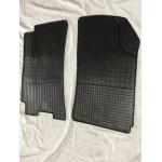 Резиновые коврики (2 шт, Polytep) Daewoo Lanos Polytep