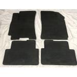 Резиновые коврики (4 шт, Polytep) Daewoo Lanos Polytep