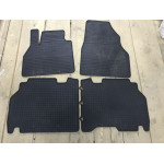 Резиновые коврики (4 шт, Polytep) Seat Ibiza 2010-2017 гг. Polytep
