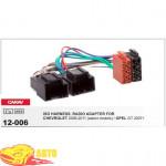 Переходные рамки CARAV 12-006 ISO переходник