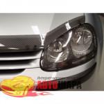 Защита фар VW GOLF V 2004 КАРБОН 2 ШТ. - EGR