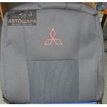 Чехлы сиденья MITSUBISHI L200 с декабря 2005 го фирмы Элегант - модель Classic