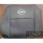 Чехлы сиденья OPEL Vivaro с 2002–06 г. (1+2) Элегант - модель Classic