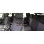 Чехлы сиденья SSANG YONG ACTION с 2006 го фирмы Элегант - модель Classic
