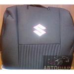 Чехлы сиденья SUZUKI SX 4 hatch 2006 го фирмы Элегант - модель Classic