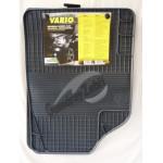 Резиновые коврики UNI VARIO 2 серый 4 ШТ GUZU / DOMA