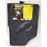 Резиновые коврики UNI VARIO 1 черный 2 ШТ GUZU / DOMA