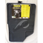 Резиновые коврики UNI VARIO 1 серый 4 ШТ GUZU / DOMA