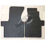 Резиновые коврики VW T4 1990 серый 2 шт GUZU / DOMA