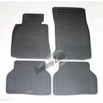 Резиновые коврики BMW 5-SERIES (E39) 1996 серый 4 шт GUZU / DOMA