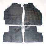 Резиновые коврики DAEWOO MATIZ 1998 серый 4 шт GUZU / DOMA