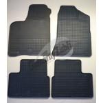 Резиновые коврики LADA 2110. 2113.2111.2112 серый 4 ШТ GUZU / DOMA