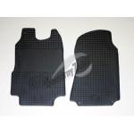 Резиновые коврики FORD TRANSIT 2000/2006 серый 2 шт GUZU / DOMA