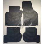 Резиновые коврики VW GOLF V 2003 серый 4 шт GUZU / DOMA