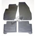 Резиновые коврики FIAT LINEA 2006 серый 4 шт GUZU / DOMA