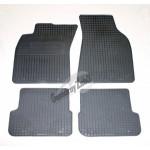 Резиновые коврики AUDI A6(C6) (06-)серый 4 шт GUZU / DOMA