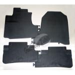 Резиновые коврики HONDA CR-V 2006 серый 4 шт GUZU / DOMA
