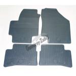 Резиновые коврики HYUNDAI ACCENT 2006 серый 4 шт GUZU / DOMA