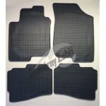 Резиновые коврики HYUNDAI I30 2007 серый 4 шт GUZU / DOMA