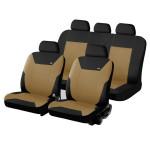 Чехлы для автомобильных сидений Hadar Rosen CORSAR, Черно-Бежевый 10347
