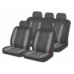 Чехлы для автомобильных сидений Hadar Rosen LEADER, Темно-Серый/Светло-Серый 10412
