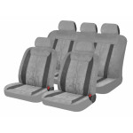 Чехлы для автомобильных сидений Hadar Rosen LEADER, Светло-Серый/Темно-Серый 10413