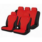 Чехлы для автомобильных сидений Hadar Rosen PASS, Красный/Черный 10911