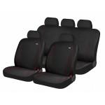 Чехлы для автомобильных сидений Hadar Rosen PARTNER, Черный/Красная строчка 10918