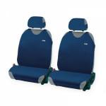 Накидки Фронт на автомобильные сидения Hadar Rosen PERFECT, Синий 21093