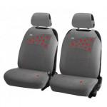 Накидки Фронт для автомобильных сидений Hadar Rosen STRAWBERRIES, Серый 21115