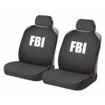 Накидки Фронт для автомобильных сидений Hadar Rosen HOTPRINT FBI, Черный 21153