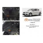 Защита Seat Ibiza V 2017- V-1,0;TSI двигатель, КПП, радиатор - Kolchuga