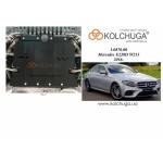 Защита Mercedes-Benz W 213 Е220 2016- V-2,0D двигатель, - Kolchuga