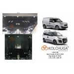 Защита Opel Combo D 2012- V- всі двигатель, КПП, радиатор - Премиум - Kolchuga