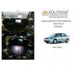 Защита Opel Astra Н 2004- V-все двигатель и КПП - Кольчуга