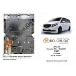 Защита Mercedes-Benz Viano D (W447) 2014- V-2,2 СDI двигатель, КПП, радиатор - Премиум ZiPoFlex - Kolchuga