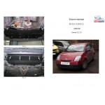 Защита Citroen С3 2002- V-все кроме С3 с об'ємом 1,6 АКПП 2010 р. двигатель и КПП - Кольчуга