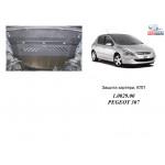 Защита Peugeot 307 2001-2008 V-все двигатель и КПП - Кольчуга