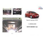 Защита Mitsubishi Colt 2004-2009- V-1.3 АКПП; МКПП двигатель и КПП - Кольчуга