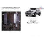 Защита Hyundai Terracan 2001-2007 V-2.9; 3,5I ma защита КПП (1.0111.00) двигатель и КПП - Кольчуга