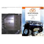 Защита Daewoo Nexia 2003- V-1.5 МКПП АКПП двигатель и КПП - Кольчуга
