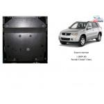 Защита Suzuki Grand Vitara 2005- V-1,6; 2,0; 2,4 защита КПП(1.0135.00) кроме 2,7 и 3,2 двигатель КПП роздатка - Кольчуга
