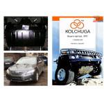 Защита Toyota Camry 2007- V-3.0,3,5 кроме-сборка ОАЕ-МКПП, Австралiя, Саудiвська Аравiя двигатель и КПП - Кольчуга