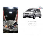 Защита Hyundai Getz 2002- V-1,4:1,6 МКПП АКПП двигатель и КПП - Кольчуга