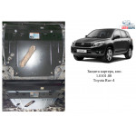 Защита Toyota RAV 4 III 2005- V-2,0; 2,5 АКПП двигатель и КПП - Кольчуга