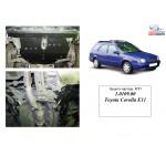 Защита Toyota Corolla VIII 1995-2000 V-1.6 двигатель и КПП - Кольчуга
