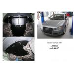 Защита Audi A4 В7 2004-2008 V-1,8Т АКПП двигатель и КПП - Кольчуга