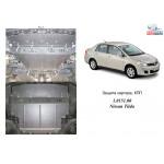 Защита Nissan Tiida (Versa) 2004- V-1,6; 1,8; 2,0 АКПП,МКПП двигатель и КПП - Кольчуга